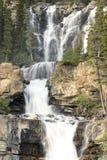 Watervallen. Stock Foto's