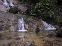 Watervallen in de ochtend stock video
