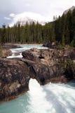 Watervallen in de rotsachtige bergen - West-Canada Royalty-vrije Stock Afbeelding