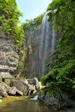 Watervallen dichtbij Xiaofeng-Rivier Stock Fotografie