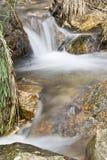 Watervallen in Extremadura. Royalty-vrije Stock Afbeelding