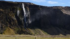 Watervallen in IJsland 4K stock videobeelden