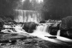 Watervallen in Karpacz Stock Afbeelding