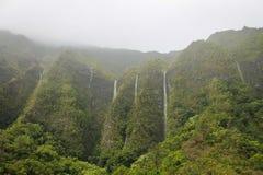 Watervallen in Ko'olaus royalty-vrije stock foto's