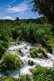 Watervallen Krka Royalty-vrije Stock Afbeeldingen