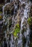 Watervallen in Monasterio DE Piedra, Zaragoza, Aragon, Spanje Stock Foto