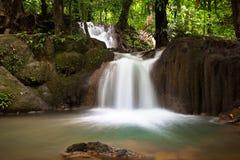 Watervallen in Trang. Royalty-vrije Stock Foto