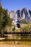 Watervallen - Yosemite stock foto