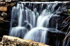 Watervalonduidelijk beeld Royalty-vrije Stock Afbeeldingen