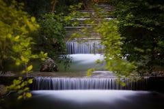 Watervalpark Royalty-vrije Stock Foto