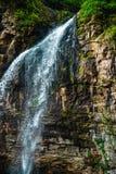 Watervalreus Oostelijk Abchazië Dichtbij de stad van Tkvarcheli Akarmaradistrict royalty-vrije stock foto's