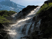 Watervalstappen Stock Foto