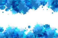 Waterverf abstracte achtergrond Stock Afbeelding