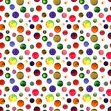 Waterverf Abstracte Cirkels Royalty-vrije Stock Fotografie