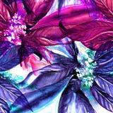 Waterverf bloemen naadloos patroon Royalty-vrije Stock Foto