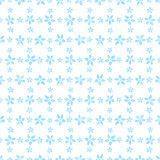 Waterverf bloemen naadloos patroon Vector illustratie Achtergrond De eindeloze textuur kan voor druk op stof en pap worden gebrui Stock Fotografie