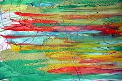Waterverf en modderige abstracte achtergrond Stock Afbeelding