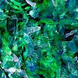 Waterverf etnisch naadloos patroon Stock Foto's