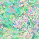 Waterverf etnisch naadloos patroon Stock Fotografie