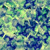 Waterverf etnisch naadloos patroon royalty-vrije stock afbeelding