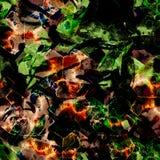 Waterverf etnisch naadloos patroon Royalty-vrije Stock Foto's