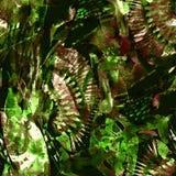Waterverf etnisch naadloos patroon Stock Afbeelding