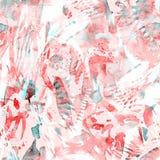Waterverf etnisch naadloos patroon vector illustratie