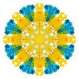 Waterverf flower Royalty-vrije Stock Afbeelding