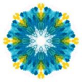 Waterverf flower Stock Foto