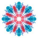 Waterverf flower Stock Afbeeldingen