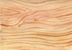 Waterverf houten textuur Royalty-vrije Stock Foto's