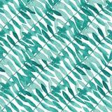 Waterverf naadloos patroon royalty-vrije stock foto