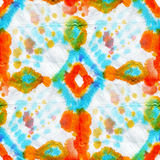 Waterverf naadloos patroon Stock Afbeeldingen