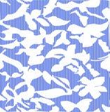 Waterverf naadloos patroon met roze en oranje de herfstbladeren De achtergrond van de aard royalty-vrije illustratie