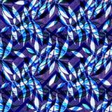 Waterverf naadloos patroon Waterverf naadloze heldere backgrou Stock Foto's