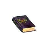 Waterverf oud magisch boek Royalty-vrije Stock Afbeeldingen