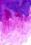 Waterverf Roze Achtergrond Royalty-vrije Stock Fotografie