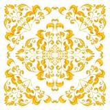 Waterverf uitstekend patroon Stock Foto's