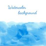 Waterverf vectorachtergrond Royalty-vrije Stock Afbeeldingen