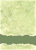 Waterverfachtergrond in groene olijfkleuren Stock Foto's
