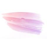 Waterverfachtergrond. kleurrijke rode roze de verftextuur van de waterkleur Royalty-vrije Stock Afbeelding