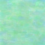Waterverfachtergrond met penseelstreken in turkooise kleuren Stock Fotografie