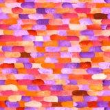 Waterverfbakstenen Vector abstract naadloos patroon Stock Foto