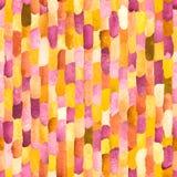 Waterverfbakstenen Vector abstract naadloos patroon Royalty-vrije Stock Fotografie
