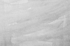 Waterverfborstels op document textuur of achtergrond Stock Foto