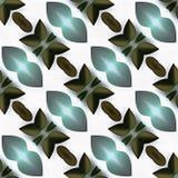 Waterverffractal Symmetrie niet royalty-vrije illustratie