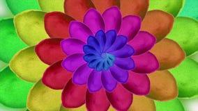 Waterverfpatroon van bloembladeren op witte achtergrond kwekend bloemen, bloos toenam achtergrond, document bloemen, het bloeien royalty-vrije illustratie