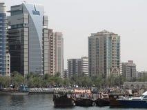 Watervervoer Doubai royalty-vrije stock afbeeldingen