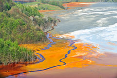 Watervervuiling royalty-vrije stock afbeelding