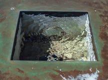 Watervierkant Stock Foto